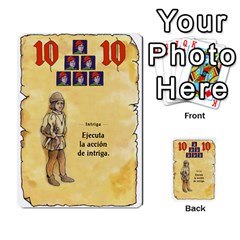 El Grande   Rey E Intriga (2/3) By Juan Luis Bermudez   Multi Purpose Cards (rectangle)   P79hvvp0pit6   Www Artscow Com Front 40