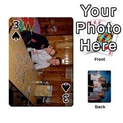 Jeu De Cartes By Annie Pouliot   Playing Cards 54 Designs   6t8mn5z4lrpm   Www Artscow Com Front - Spade3