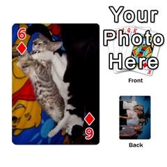Jeu De Cartes By Annie Pouliot   Playing Cards 54 Designs   6t8mn5z4lrpm   Www Artscow Com Front - Diamond6