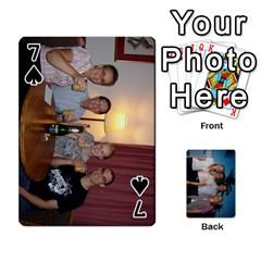 Jeu De Cartes By Annie Pouliot   Playing Cards 54 Designs   6t8mn5z4lrpm   Www Artscow Com Front - Spade7