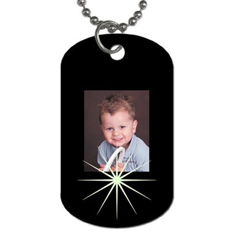 Tag1 By Becki Drake   Dog Tag (one Side)   4l32vs17nxq3   Www Artscow Com Front