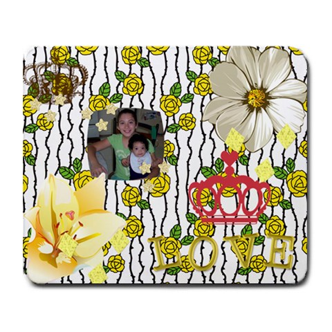 Isis And Isabella By Rose Reyes   Collage Mousepad   Czvkk4v1vlp1   Www Artscow Com 9.25 x7.75 Mousepad - 1