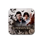 Supernatural Coaster. - Rubber Coaster (Square)