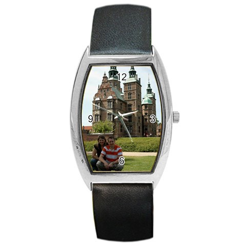 Watch By Michelle Osterhus   Barrel Style Metal Watch   B69hze464ib3   Www Artscow Com Front