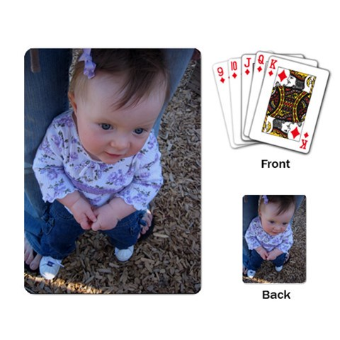 A Fun Gift Idea By Becky   Playing Cards Single Design   F5mv8stpr1zg   Www Artscow Com Back
