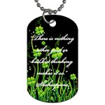 necklace - Dog Tag (Two Sides)