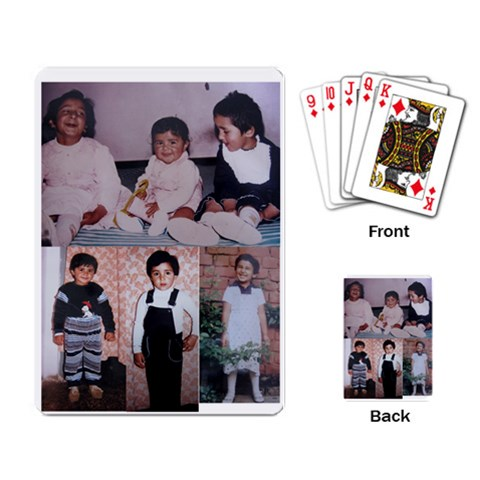 Cards By Kanika   Playing Cards Single Design   Z39uluq1s80u   Www Artscow Com Back