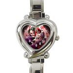 My new watch ^_^ - Heart Italian Charm Watch