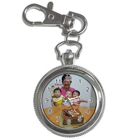 Watch By Pauline Tan   Key Chain Watch   Yeyk07sr7mim   Www Artscow Com Front