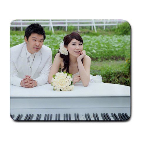 Patty And Jason By Patty Chen   Collage Mousepad   Smugs60guap4   Www Artscow Com 9.25 x7.75 Mousepad - 1