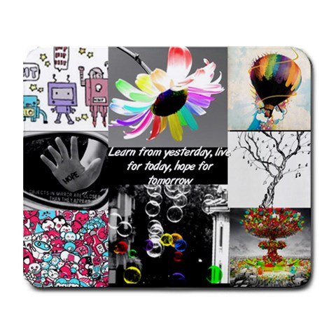 awesome by merlita 9.25 x7.75 Mousepad - 1