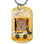 tomas dog tag - Dog Tag (One Side)
