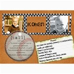 kohen - 5  x 7  Photo Cards