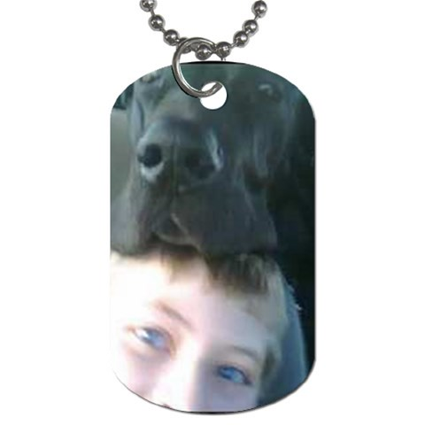 By Crystal   Dog Tag (one Side)   74552mnvp80q   Www Artscow Com Front