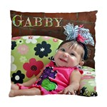 Gabby  - Standard Cushion Case (One Side)