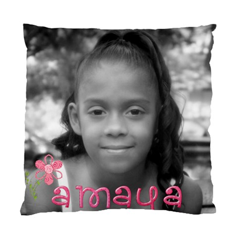 Amaya By Rebecca M Riojas   Standard Cushion Case (one Side)   6bonacwghjf4   Www Artscow Com Front