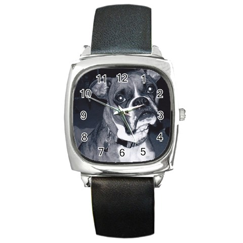 By  Chrissy Hels   Square Metal Watch   88gopr30341l   Www Artscow Com Front