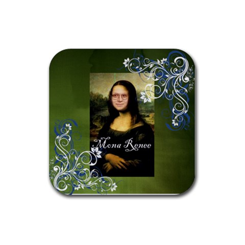 Momma Coaster By Renee Reynolds   Rubber Coaster (square)   P1m4al4iuoux   Www Artscow Com Front