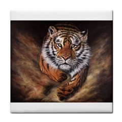 Tiger face towel Face Towel by justaccessorize