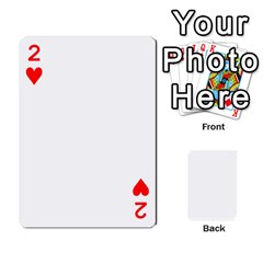 Mish s Cards Noosa  By Michelle Steele   Playing Cards 54 Designs   Zkac26m274xq   Www Artscow Com Front - Heart2