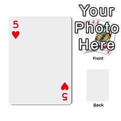 Mish s Cards Noosa  By Michelle Steele   Playing Cards 54 Designs   Zkac26m274xq   Www Artscow Com Front - Heart5