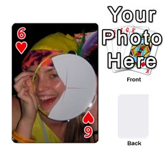Mish s Cards Noosa  By Michelle Steele   Playing Cards 54 Designs   Zkac26m274xq   Www Artscow Com Front - Heart6