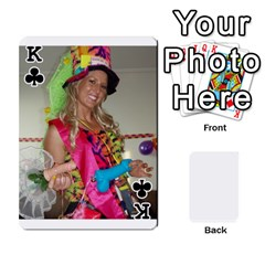 King Mish s Cards Noosa  By Michelle Steele   Playing Cards 54 Designs   Zkac26m274xq   Www Artscow Com Front - ClubK