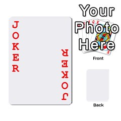 Mish s Cards Noosa  By Michelle Steele   Playing Cards 54 Designs   Zkac26m274xq   Www Artscow Com Front - Joker2
