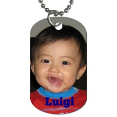 Kids Dogtag By Pinkishviolet   Dog Tag (two Sides)   Ifn7p4skj6cl   Www Artscow Com Front