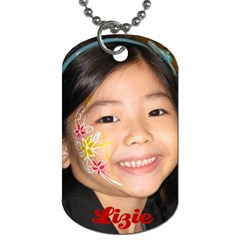 Kids Dogtag By Pinkishviolet   Dog Tag (two Sides)   Ifn7p4skj6cl   Www Artscow Com Back