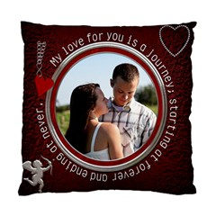 Love Pillow By Lil    Standard Cushion Case (two Sides)   O9t52m1vruv4   Www Artscow Com Back