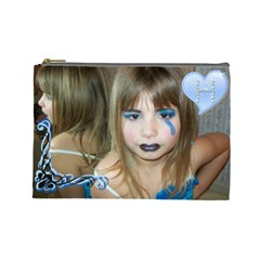 Heaven Cosmetics By Angela Walker   Cosmetic Bag (large)   Q1h8igbam2k2   Www Artscow Com Front