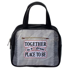 Together Bag By Lil    Classic Handbag (two Sides)   0uyeuxdrbq8f   Www Artscow Com Back