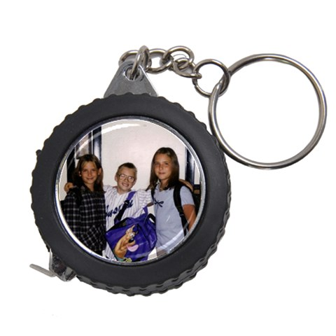 Keychain Measuring Tape By Bonnie Peloquin   Measuring Tape   Ezdxajhds64g   Www Artscow Com Front