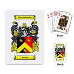 Howatt Crest/Motto Playing Cards - Playing Cards Single Design