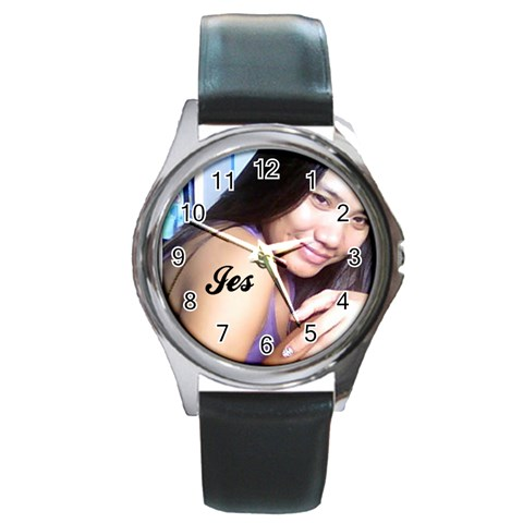 I Am Excited To Wear This Watch Already   Tagal Ng Shipping =p By Jes   Round Metal Watch   Ux4ne5anjlhd   Www Artscow Com Front