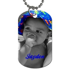 My Babies By Krystal M    Dog Tag (two Sides)   6nfh21c623mm   Www Artscow Com Back