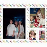 doug family college - Collage 8  x 10