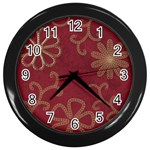 Chain wire clock - Wall Clock (Black)