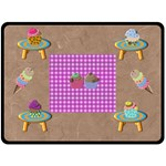 Lge Picnic Blanket - Fleece Blanket (Large)