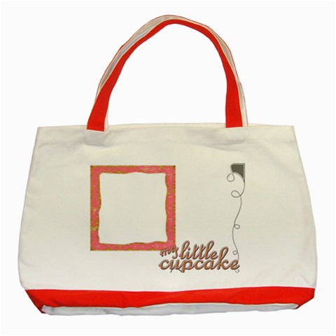 Cupcake Red Tote  by Catvinnat Front