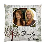 Family Pillow - Cushion Case (Two Sides)