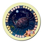 Cancer Zodiac Mousepad - Round Mousepad