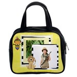 Lions & Tigers - Oh My! handbag Template - Classic Handbag (Two Sides)