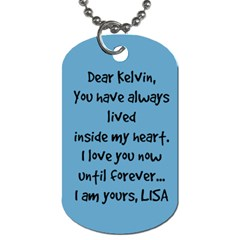 2 By Lisa Stone Heinzmann   Dog Tag (two Sides)   7ewf55rz3fwz   Www Artscow Com Back