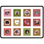 Making Spirits Bright Quilt - Fleece Blanket (Large)