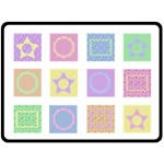 Baby Crazy Quilt XL - Fleece Blanket (Extra Large)