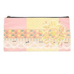Pencil Case Template  Pink Cupcakes By Mikki   Pencil Case   8nu3mgfel6fj   Www Artscow Com Front
