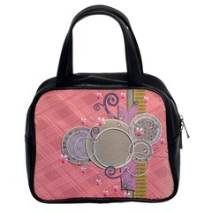 Beautiful Bag Two Sides By Angel   Classic Handbag (two Sides)   1ym4e9spyp7m   Www Artscow Com Front