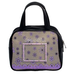 Beautiful Bag 03 By Angel   Classic Handbag (two Sides)   Sobzsbr9xqab   Www Artscow Com Front